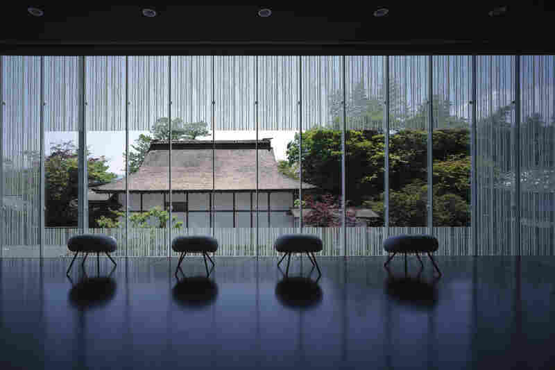 Interior of the O Museum (Nagano, Japan, 1999).