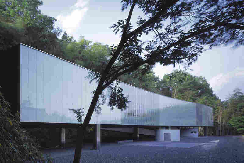 Exterior of the O Museum (Nagano, Japan, 1999).