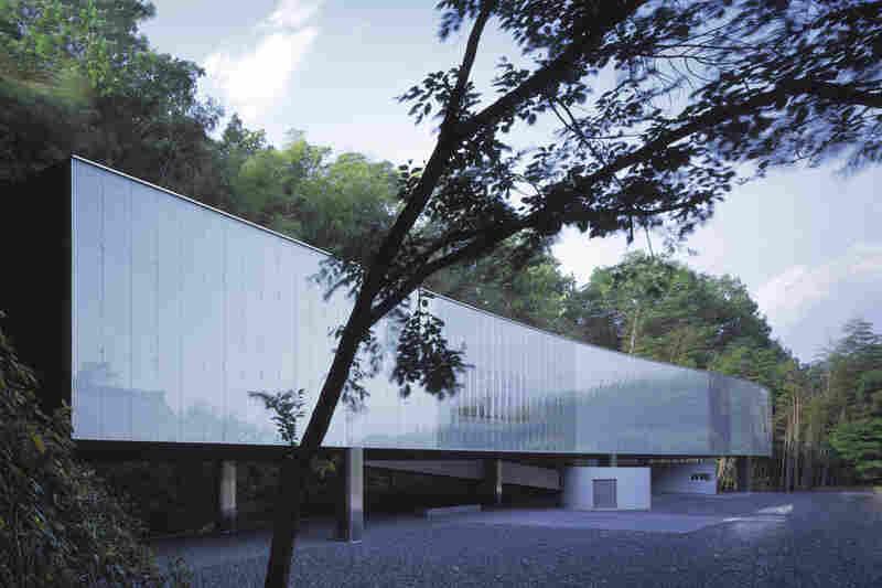 Exterior of the O Museum (Nagano, Japan, 1999).