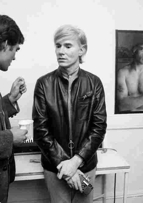 Artist and underground filmmaker Andy Warhol at his studio, The Factory, Sept. 19, 1968.