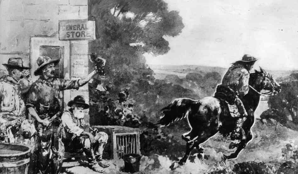 One of several conflicting accounts attributes the idea for the Pony Express to Sen. William McKendree Gwin of California. Riding horseback from San Francisco to Washington, D.C., in 1854, he realized the importance of better cross-country communications.