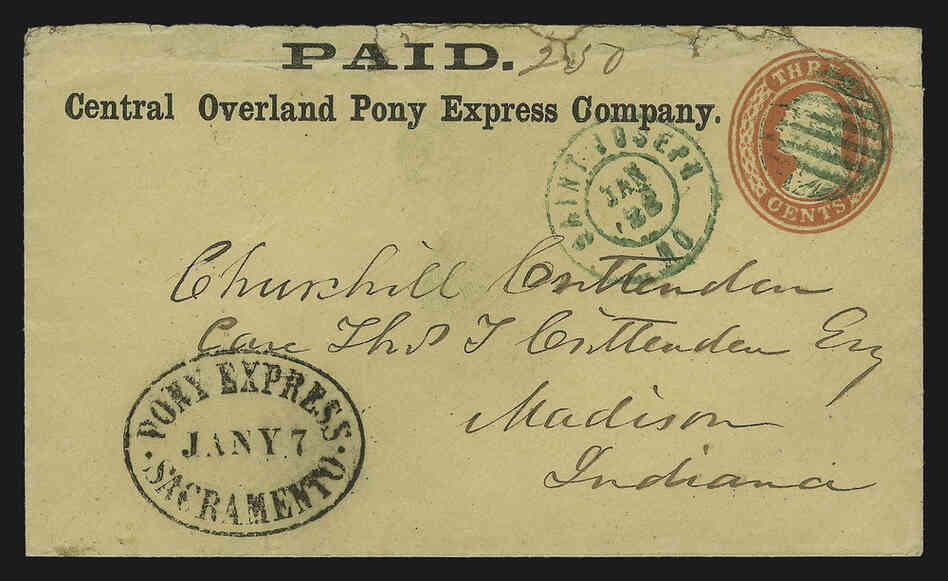 writing cover letters 150 years later pony express rides on in legend npr 1860