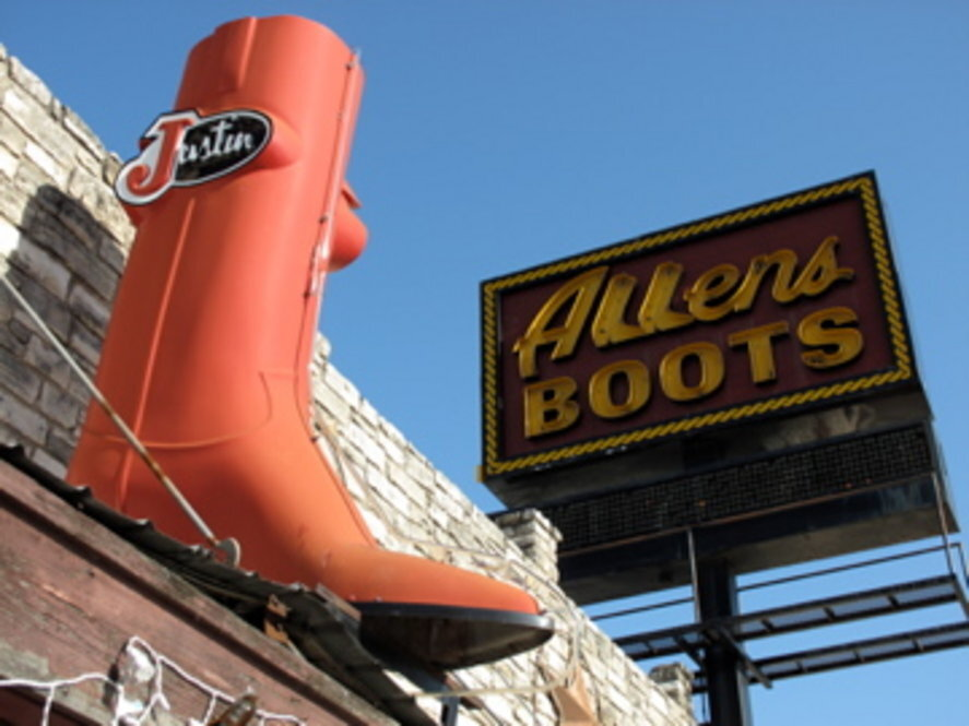 In Austin, The Perfect Cowboy Boot Fits : NPR