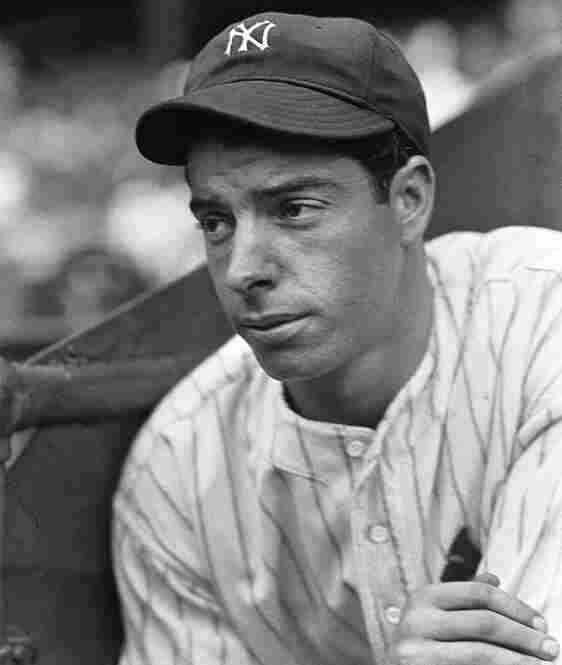 """Joe DiMaggio: Known as """"The Yankee Clipper,"""" DiMaggio is perhaps most famous for two things: hitting safely in 56 consecutive games in 1941 and marrying Marilyn Monroe."""