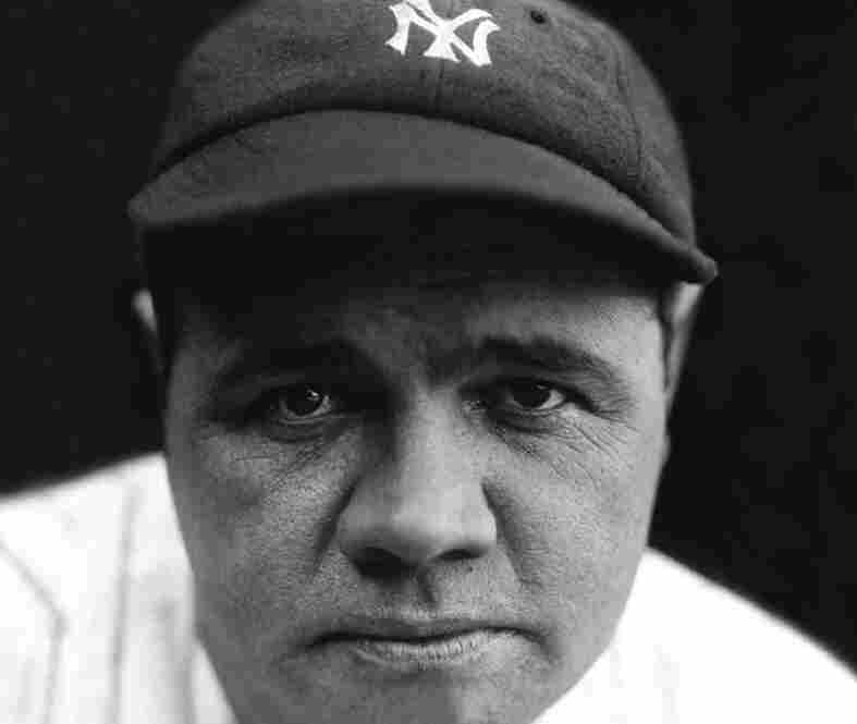 """Babe Ruth: One of the greatest legends of baseball, George Herman """"Babe"""" Ruth was a leader in home runs and a terrific pitcher before that. He played with the Boston Red Sox and the New York Yankees."""