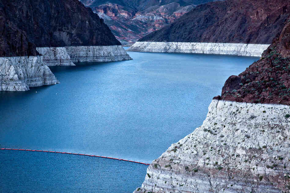 Lake Mead, near Hoover Dam, March 4, 2009