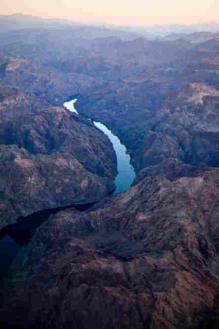 Colorado River and Black Canyon, Feb. 3, 2010