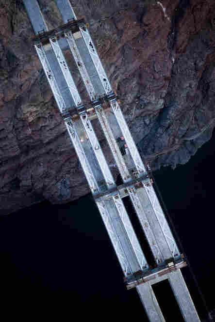 Tub girders aerial view, Feb. 3, 2010