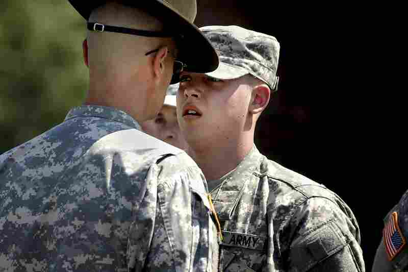 June 22, 2007. 11:11 a.m. It's been three days of endless lines, little rest, second thoughts and, basically, life turned upside down. Now comes the hard part. For the next 14 weeks, Ian and fellow members of 2nd Platoon, Echo Company of the 330th Regiment will be broken from the regimen of their civilian lives through the grueling labor, discipline and harassment of basic training.