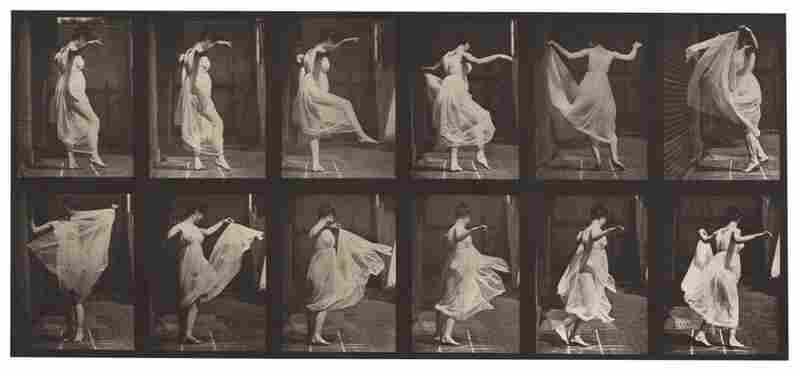 Dancing fancy, plate, 1887.