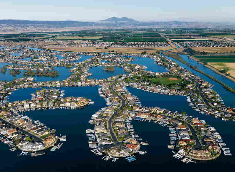 """As developments such as Discovery Bay increase in the Sacramento-San Jaquin Delta, so does the flood hazard. more than a million people now live behind delta levees."""