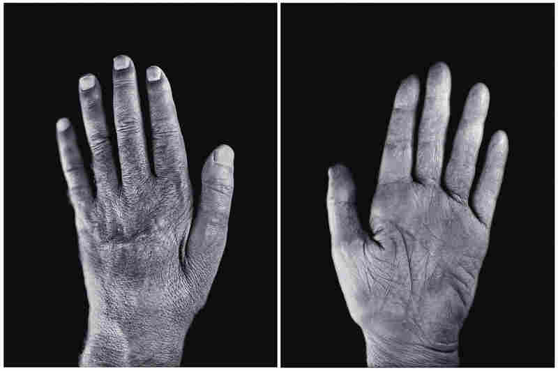 Hands diptych/Self-Portrait, 2002, made in collaboration with Jerry Spagnoli