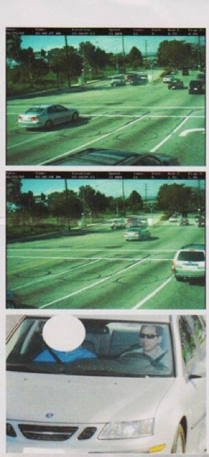 $500 For Running A Red Light? Blame The Camera : NPR