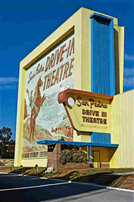 San Pedro drive-in theater, San Pedro, Calif., 1979