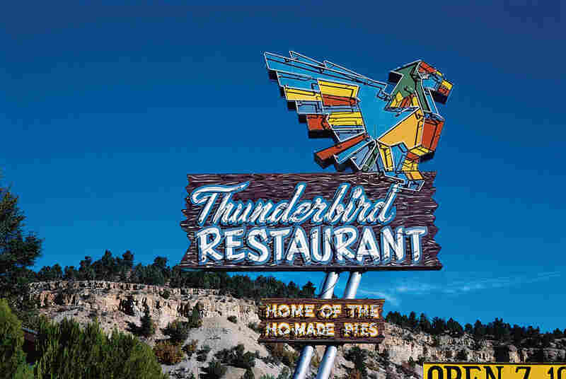 Thunderbird Restaurant Sign, Mount Carmel, Utah, 1987