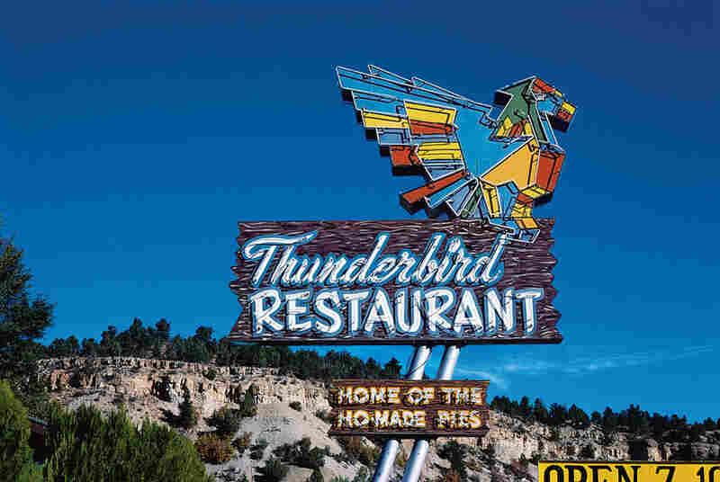 Thunderbird Restaurant Sign, Mount Carmel, Utah, 1987