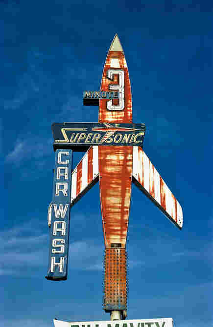 Super Sonic Car Wash, Billings, Mont., 1980