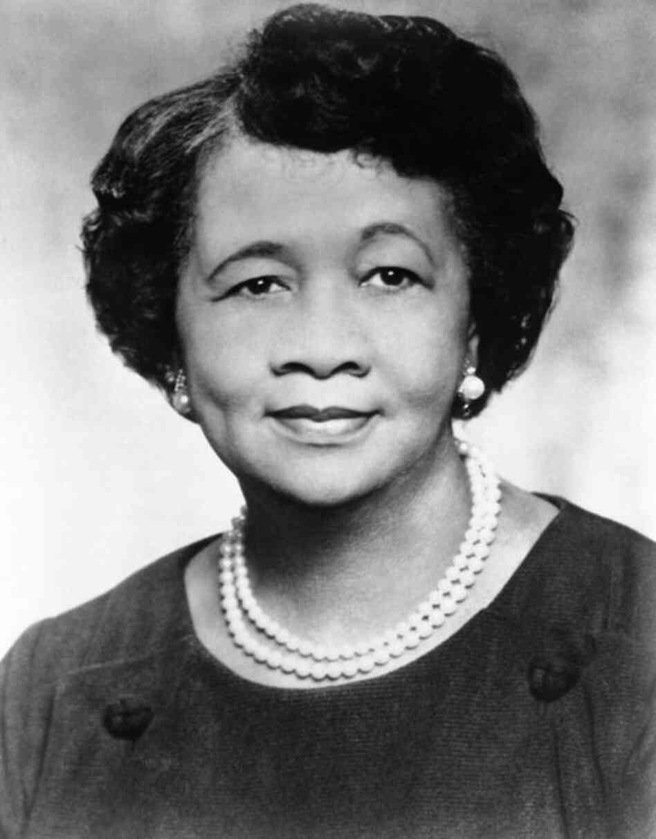 Dorothy Height, national president of the National Council of Negro Women and director of the Center for Racial Justice of the national YWCA, poses for a photo in March 1974. Height, who was a longtime president of the National Council of Negro Women, was the leading female voice of the 1960s civil rights movement. She died Tues., April 20, at age 98.