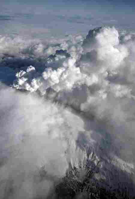 Ash from Iceland's latest volcanic eruption has caused the suspension of all London flights, on top of the nearly 300 flights already canceled.