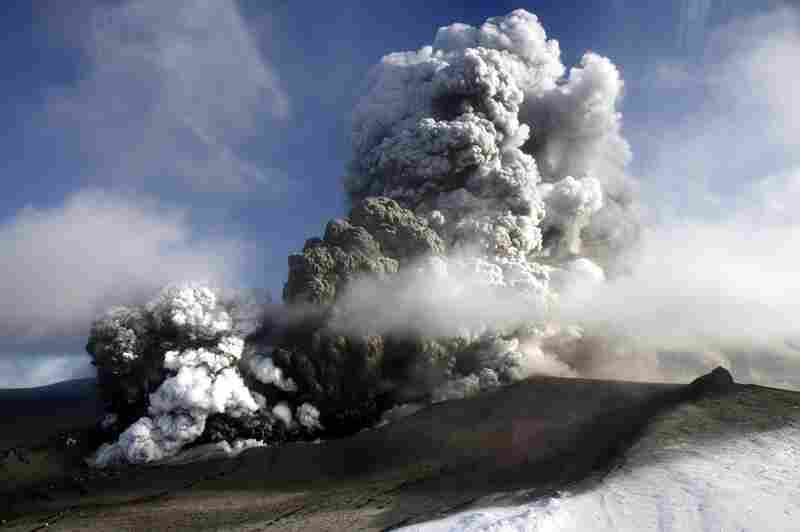 The Icelandic volcano that has kept much of Europe land-bound is far from finished spitting out its grit, and it offered up new mini-eruptions April 17.