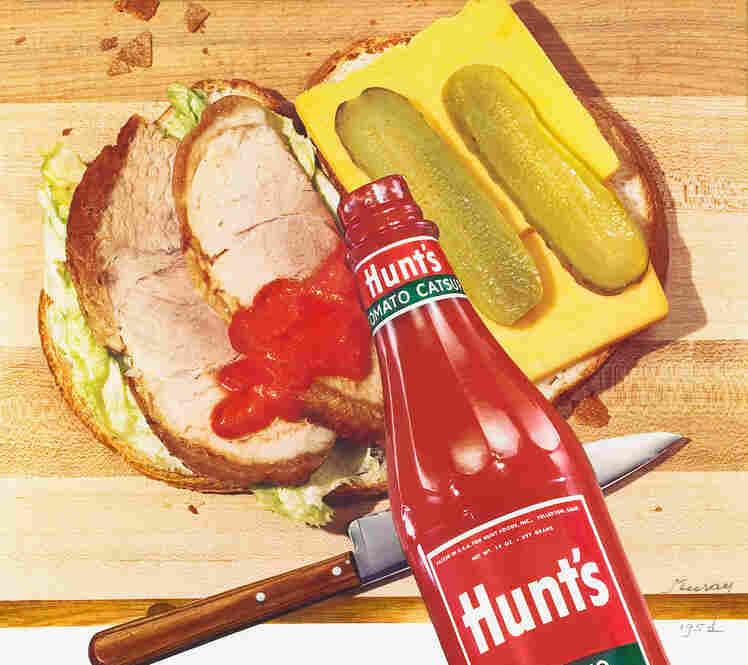 Hunt's tomato catsup, circa 1952
