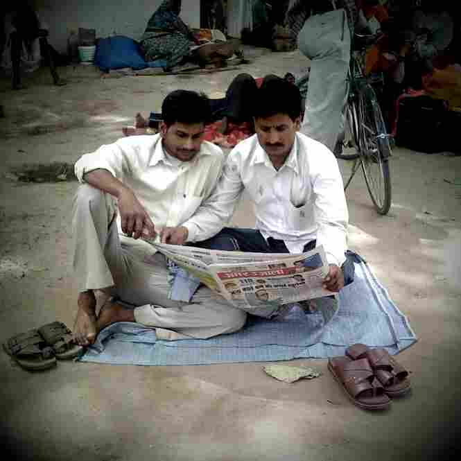 Morning news, Varanasi.