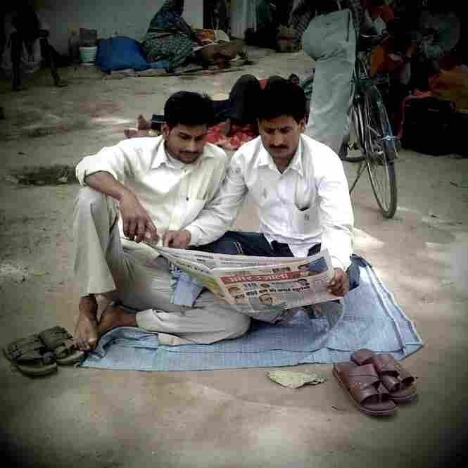 Morning news, Varanasi.
