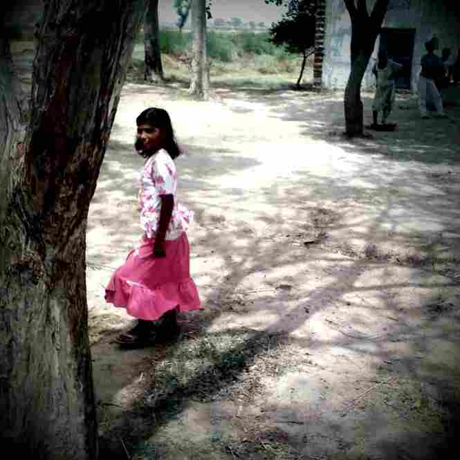 Primary school, outskirts of Aligarh.