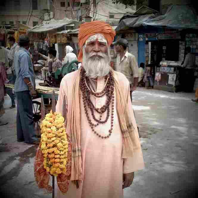 Holy man, Varanasi.