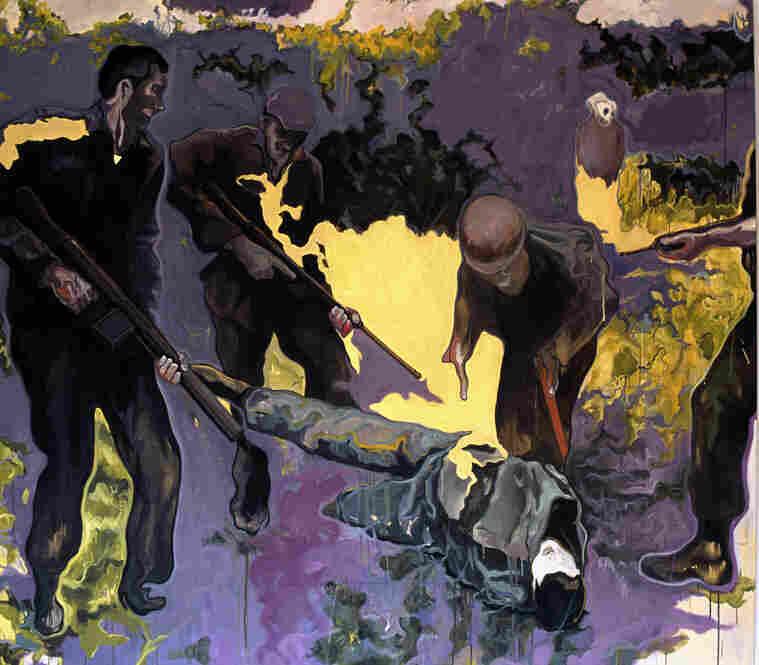 Night Hunters by Marwan Sahmarani, 2005.