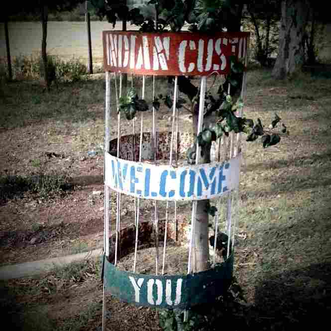 Welcome to the India-Pakistan border.