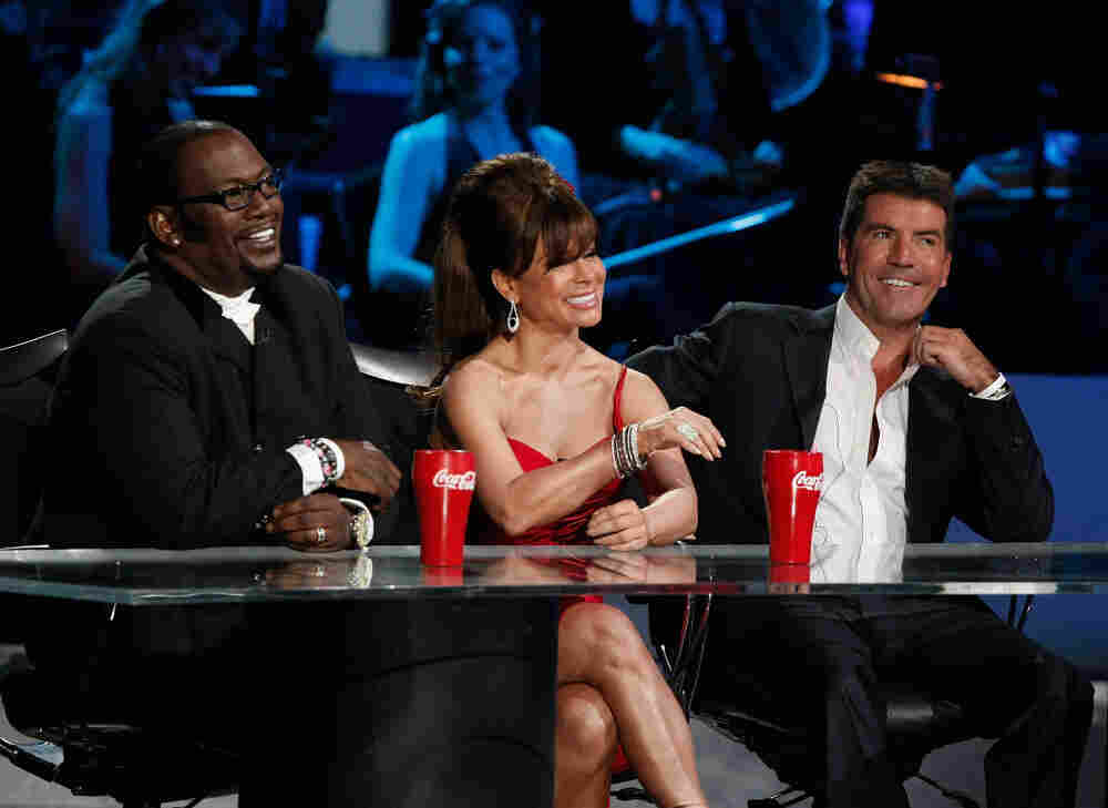 The panel on American Idol