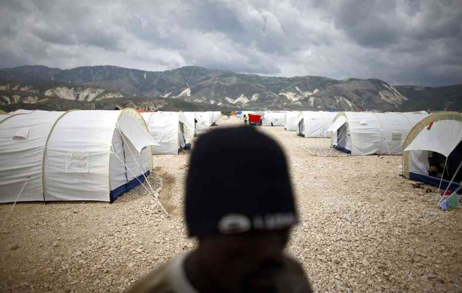 After January's devastating earthquake, internally displaced people in Port-au-Prince's makeshift camps were moved to Camp Corail in an attempt to give them a safer and more permanent living situation.