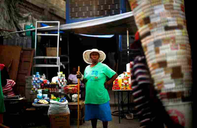 Port-au-Prince is bustling and on the mend.