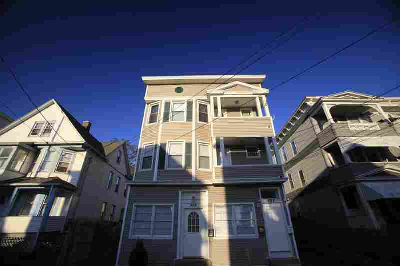 Shahzad lived in the second-floor apartment of this house in Bridgeport, Conn.