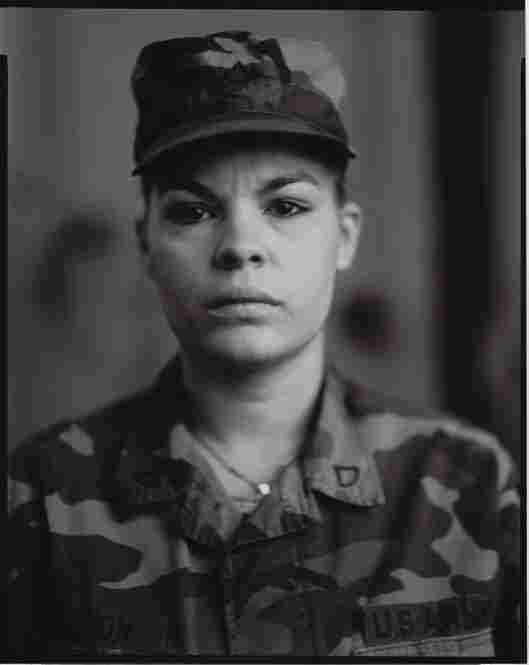 P.F.C. Maria I. Leon, U.S. Army Reserve, On Red Alert, Gulf War, 1990