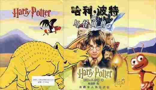 Cover of Chinese Harry Potter bootleg.