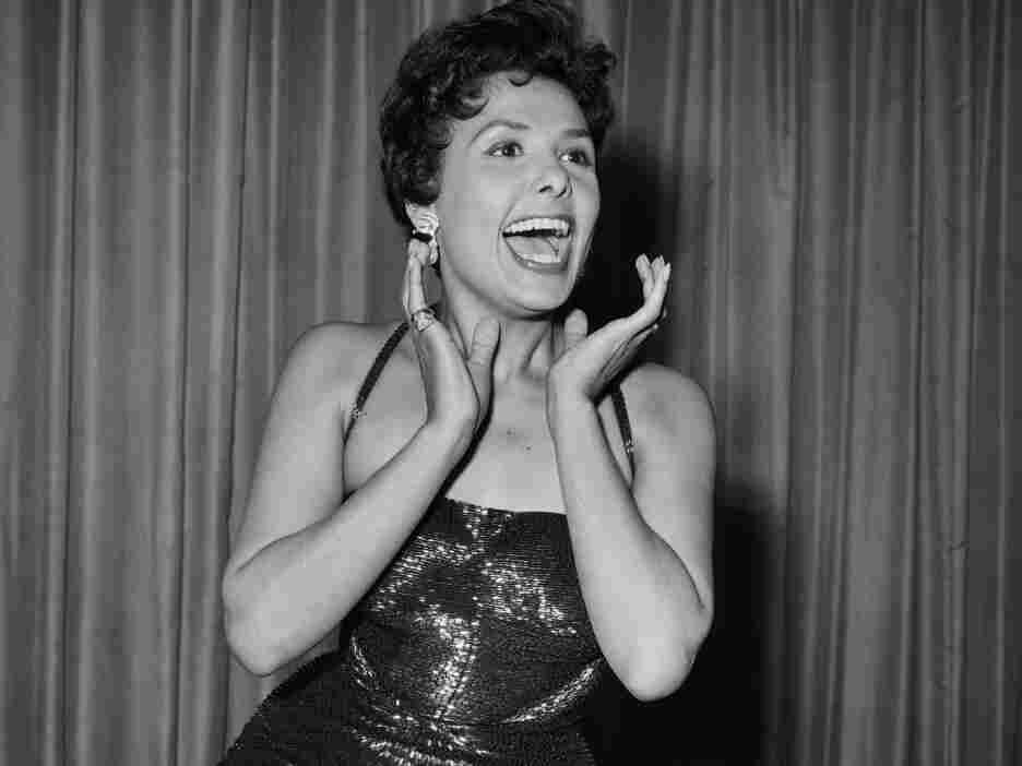 Picture taken in the 50s of Lena Horne