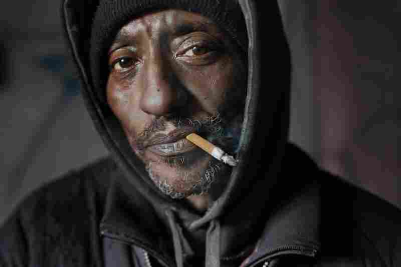 Jimbo. Formerly from West Virginia's coal mines, now homeless in New York City.