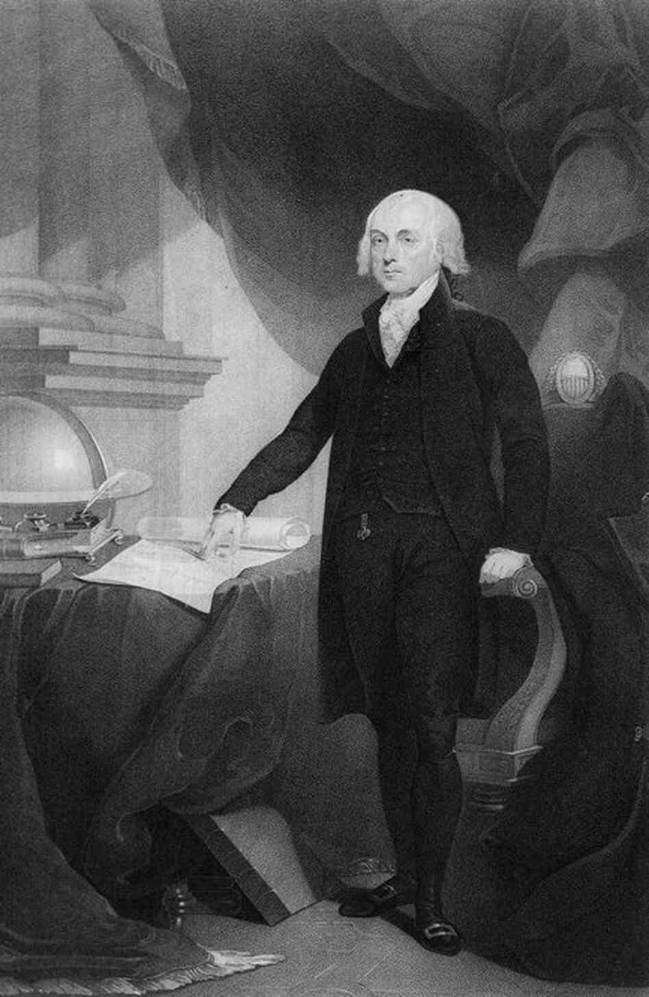 James Madison, fourth president of the United States, 5 feet 4 inches
