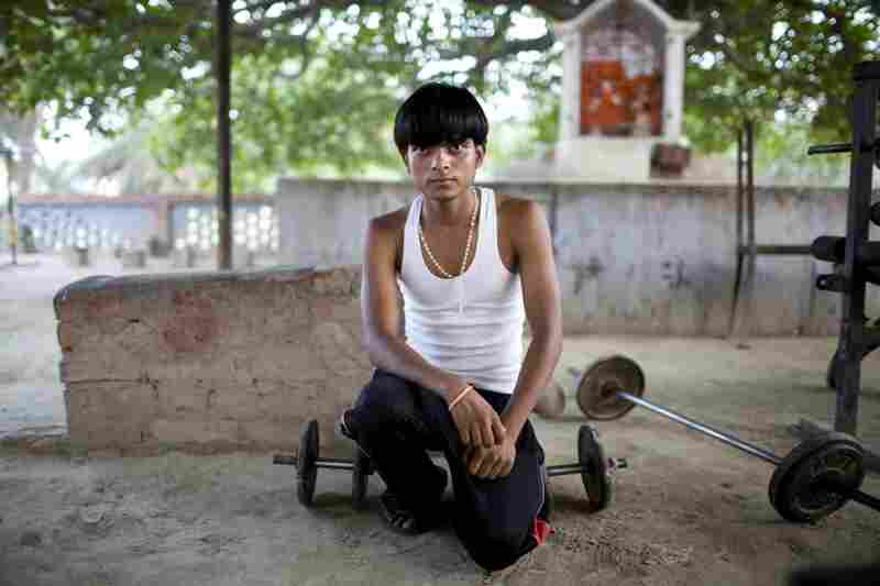 "Arjun Kumar Thakur, 17, comes to the school whenever he finds time. He is heartsick over a recent breakup with a girlfriend; their families disapproved of their relationship. ""I have been betrayed one too many times in love. So I'm going to listen to my parents and have them decide who I marry,"" he said."