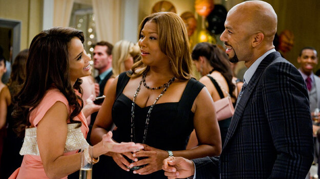 'Just Wright' stars  Queen Latifah, rapper Common and Paula Patton.