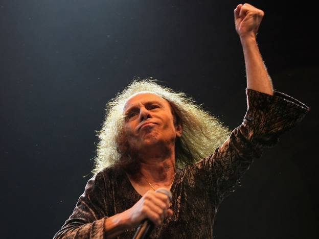 A venerated heavy-metal singer, Ronnie James Dio was a voice of triumph in the pits of bitterness and depravity.