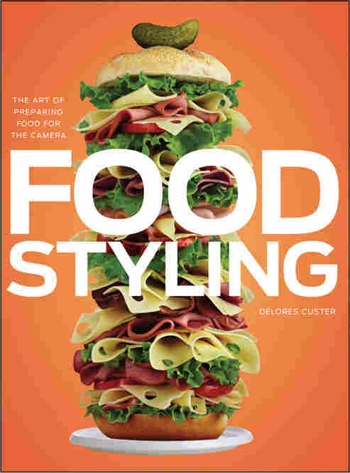 Custer's finished sandwich, as seen on the cover of her book, Food StylingK/i>.