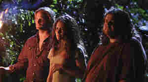 Josh Holloway, Evangeline Lilly and Jorge Garcia in 'Lost'
