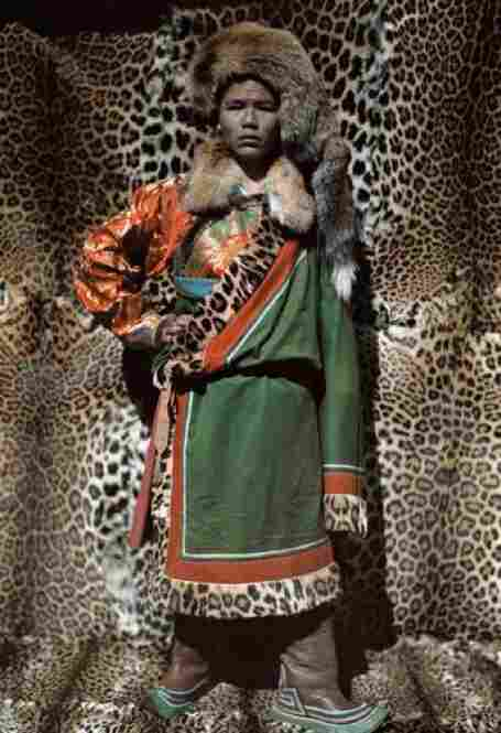 A Naxi leader in Tibet, China, circa 1927
