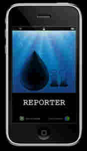 Oil Reporter mobile phone app