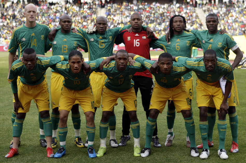 South Africa's national team, ranked 83rd in the world, could have a hard time keeping up the tradition of host countries' advancing to the World Cup's Round of 16. Preparing to host the tournament, South Africa built five new stadiums.