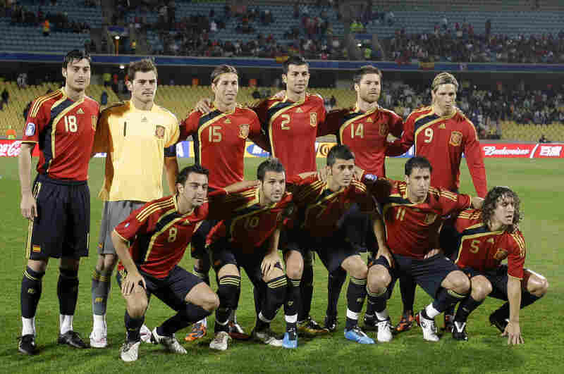 Coming off its first major title win since 1964, Spain's national team is favored to advance from Group H, which includes Switzerland, Honduras and Chile.
