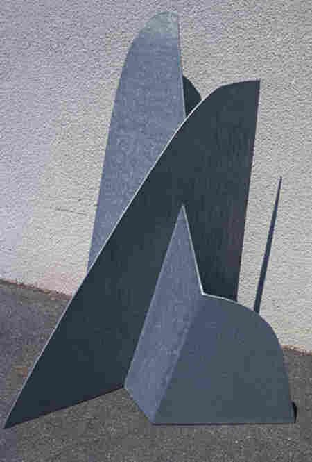 Mountains Forming by Isamu Noguchi, 1983.